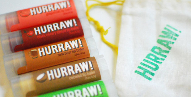 hurraw natural lip balm review