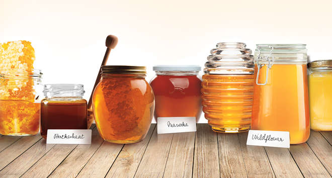 best types of honey for skin