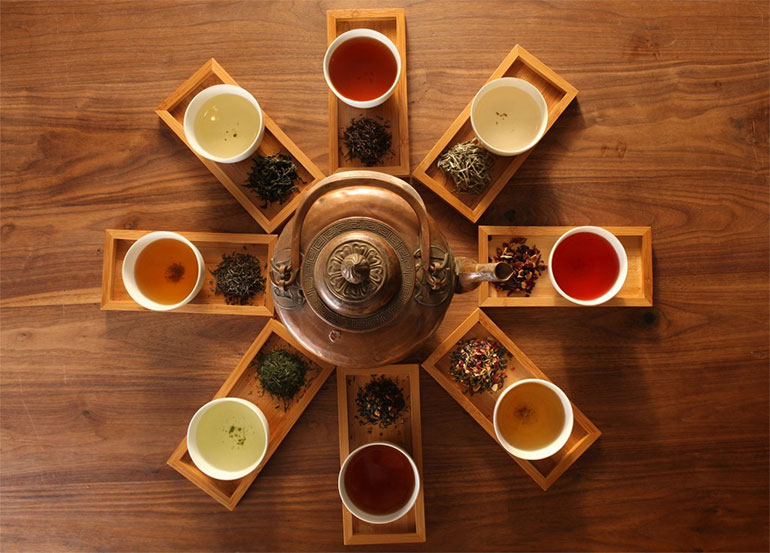 8 cups of beauty tea for skin