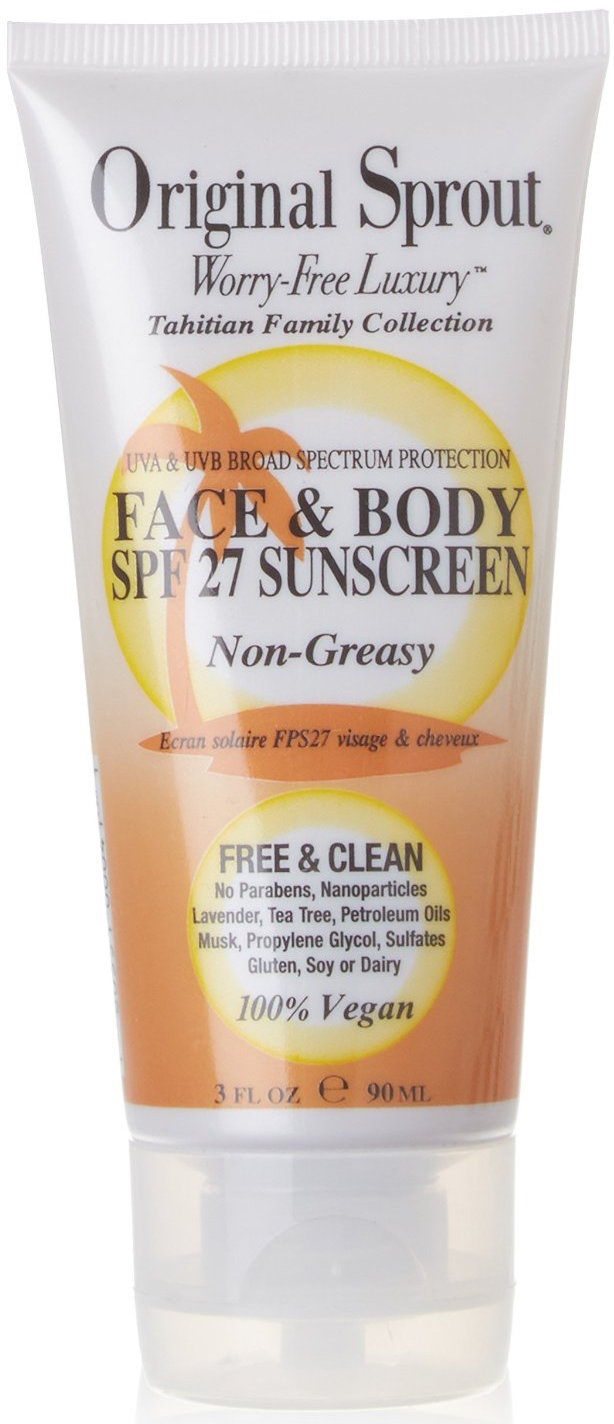 natural facial sunscreen